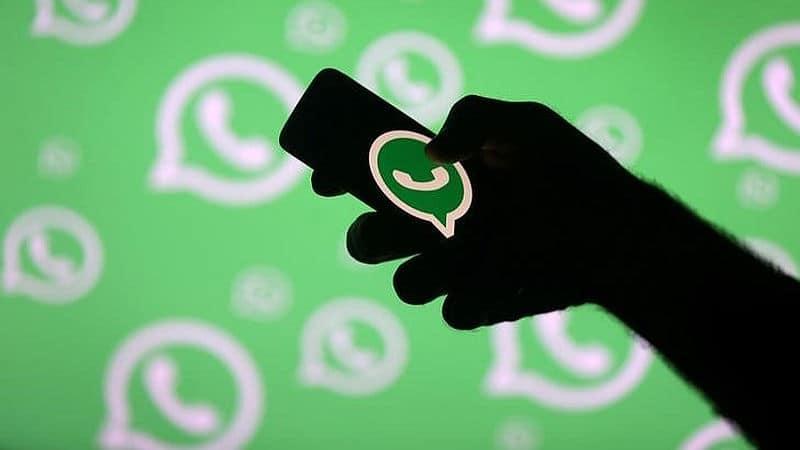 image of whatsapp profile message