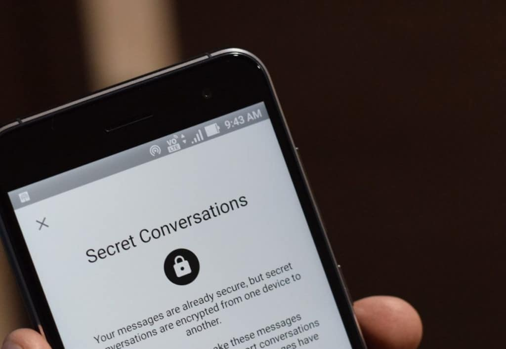 Image 1: How to Start Secret Conversation on Facebook Messenger