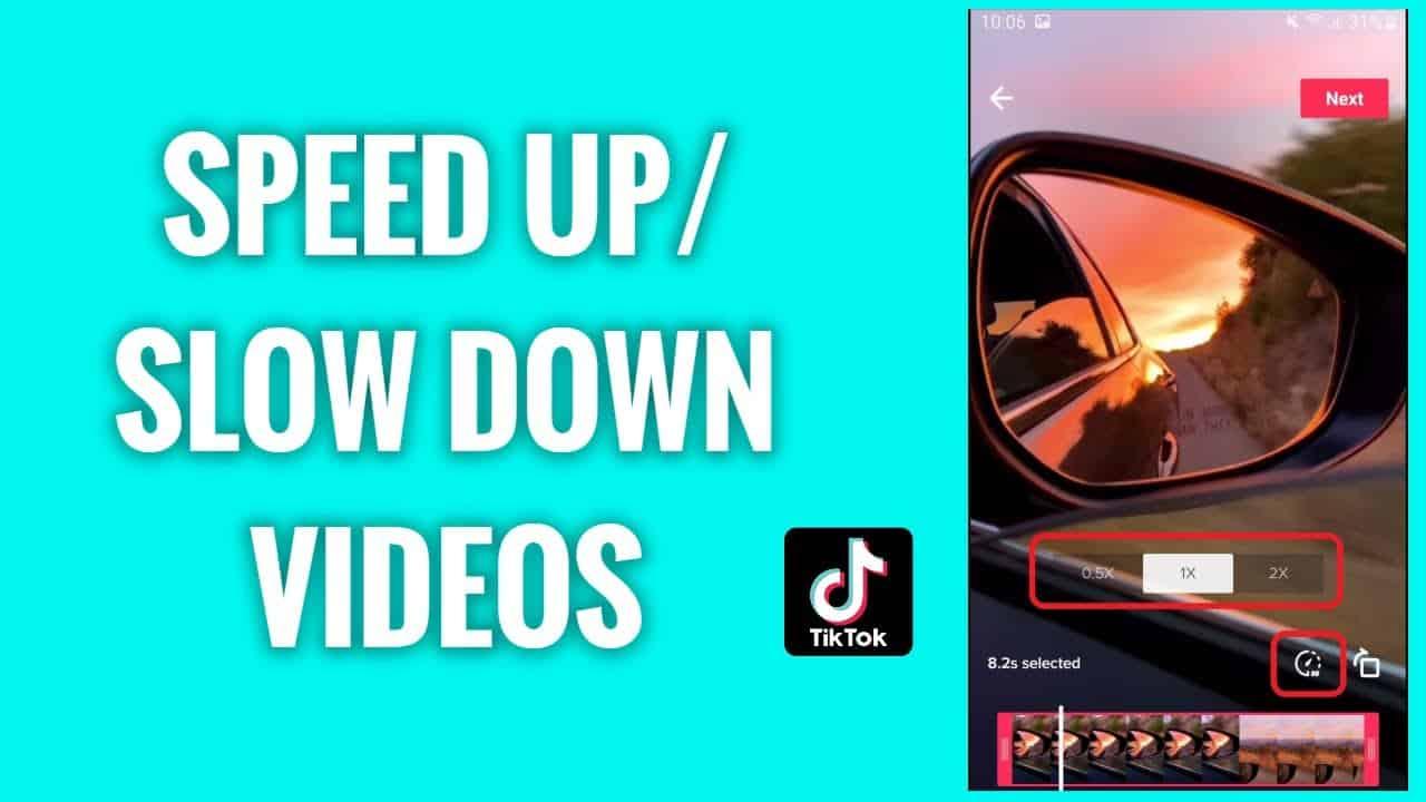 Image 1: How to Change Video Speed on TikTok