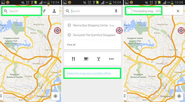 Google-Maps-Offline-Use