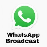 O que é WhatsApp broadcast e como usá-lo?