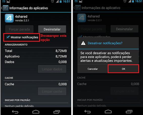 imagem 3 Como desativar notificações de qualquer aplicativo no Android