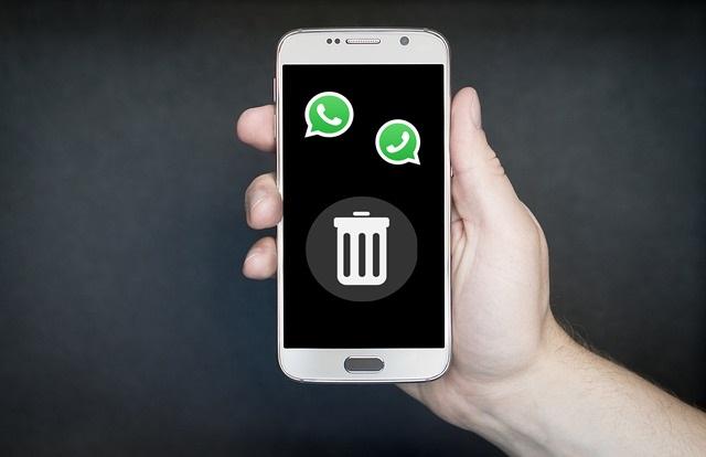 images de WhatsApp: como apagar mensagens antigas no Android