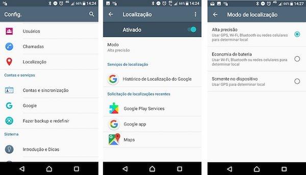 imagem 2 Como impedir que aplicativos Android acessem a sua localização