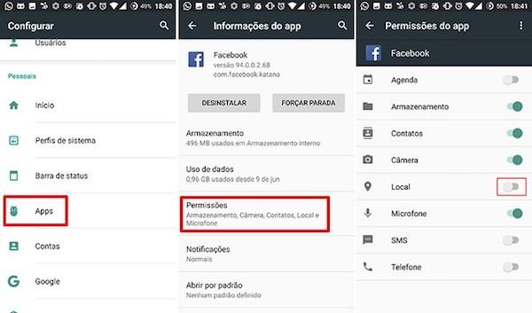 imagem 3 Como impedir que aplicativos Android acessem a sua localização