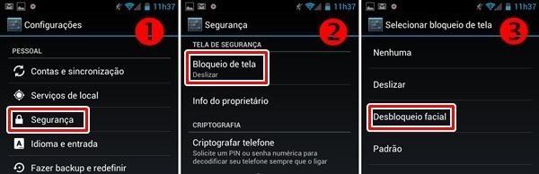 imagem 3 Como ativar no Android desbloqueio com digital ou reconhecimento facial