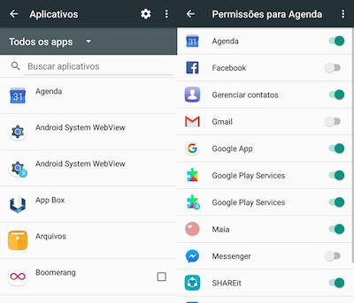 imagem 3 Como gerenciar as permissões de apps no Android