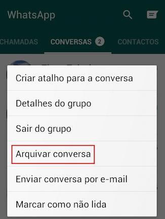 imagem 2 Mensagens privadas- como ocultar conversas no WhatsApp e no Messenger
