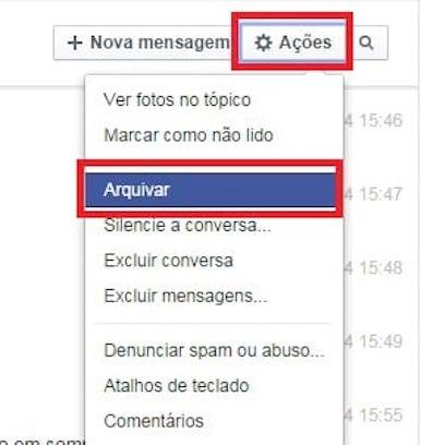 imagem 3 Mensagens privadas- como ocultar conversas no WhatsApp e no Messenger