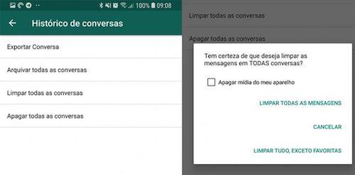 imagem 3 WhatsApp- saiba como gerenciar o espaço de armazenamento
