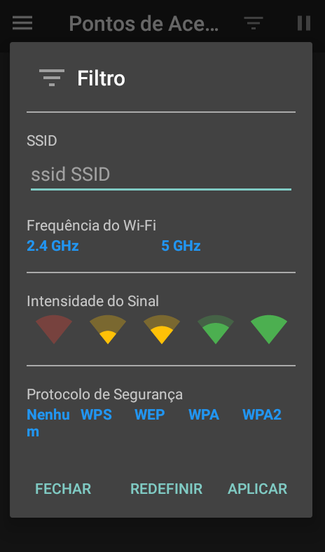 Wi-Fi no Android 2