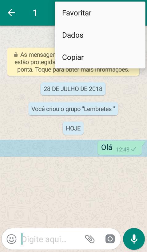 conversa whatsapp