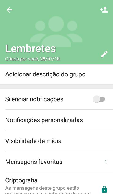 imagem 3 de Como encontrar rapidamente mensagens importantes no WhatsApp