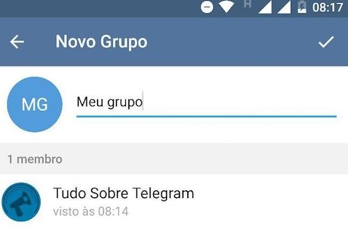 imagem 2 Saiba como criar grupos ou canais no Telegram