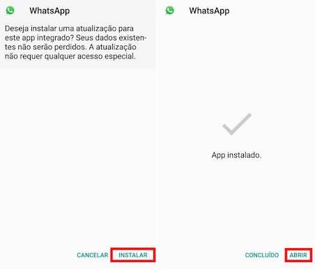imagem 3 WhatsApp APK- como testar a versão beta ou baixar versões antigas no Android