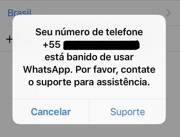 Conta banida no WhatsApp: saiba o que fazer 2