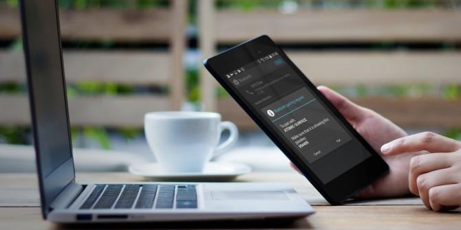 Como usar o Wi-Fi do smartphone para conectar vários dispositivos