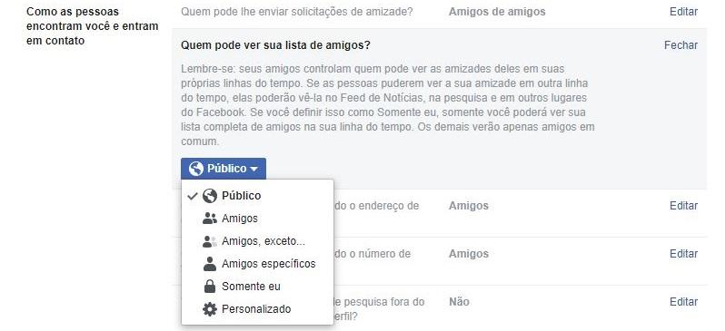 imagem 4 de Como ocultar a lista de amigos do Facebook
