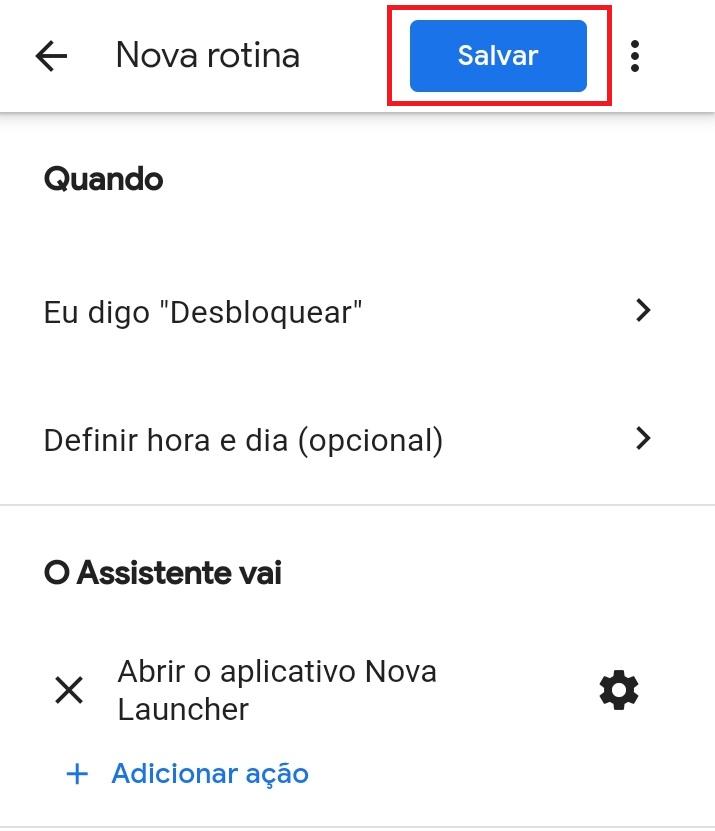 Comando de voz - Google Assistente 4