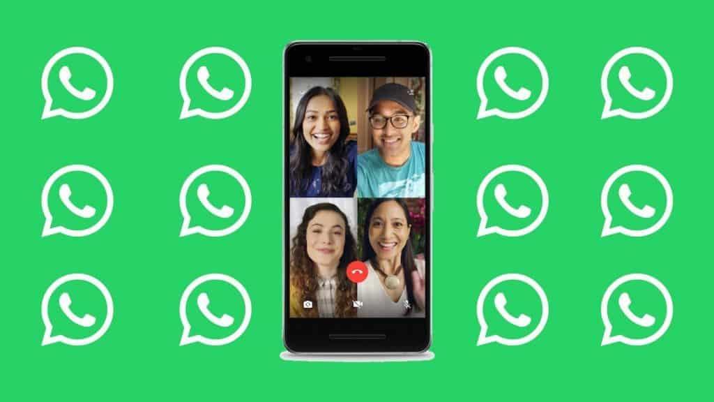 WhatsApp: atualização permite chamadas de vídeo e áudio com até 8 pessoas