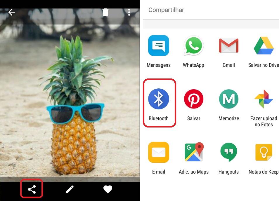 imagem 2 de Como transferir arquivos pesados entre dois dispositivos Android