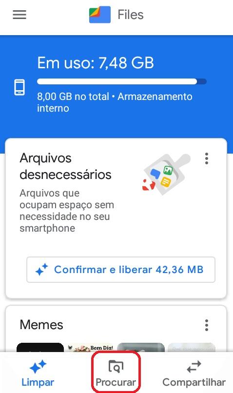 imagem 2 de WhatsApp como encontrar as mensagens de voz no Android