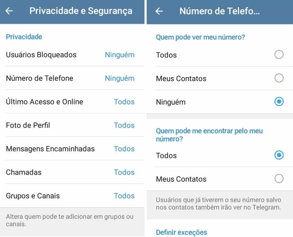 imagem 3 de Como migrar do WhatsApp para o Telegram e quais as diferenças entre os dois mensageiros