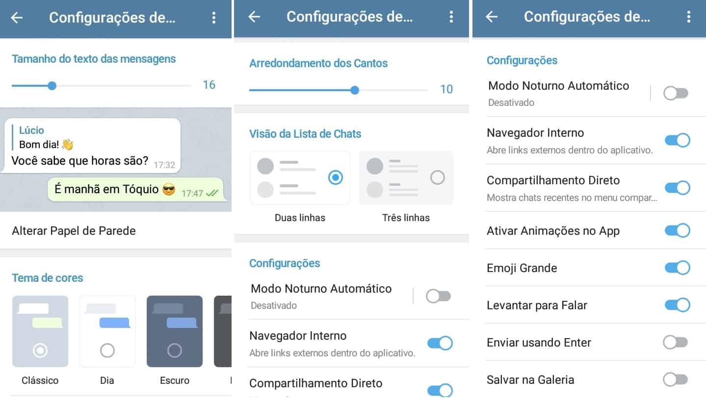 imagem 4 de Como migrar do WhatsApp para o Telegram e quais as diferenças entre os dois mensageiros