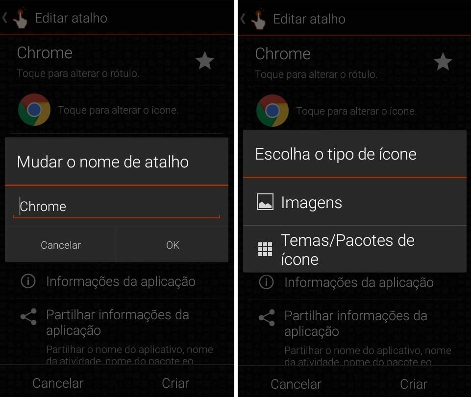 imagem 6 de Dicas e truques renomeie qualquer app no Android