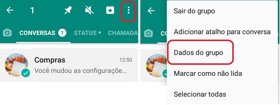 imagem 2 de WhatsApp como alterar as configurações de admin em grupos