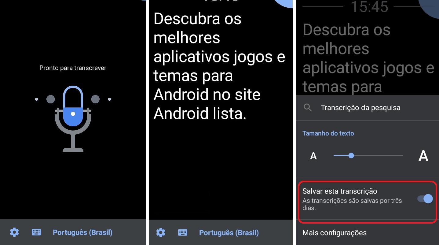 imagem 2 de Como converter voz em texto no Android