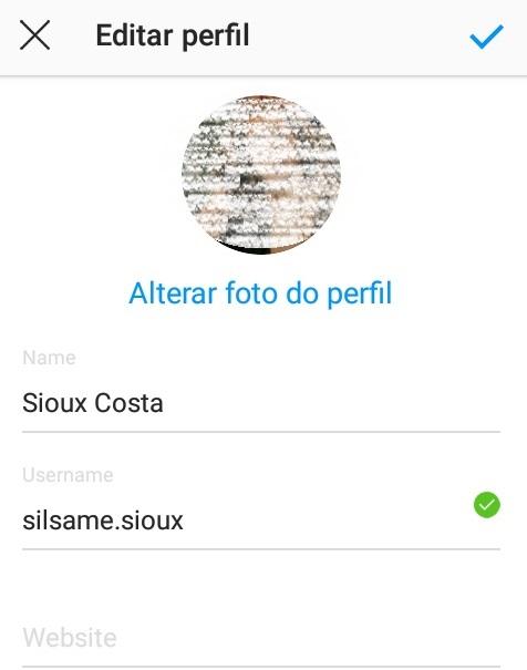 imagem 3 de Dicas para Instagram como mudar o nome de usuário na rede social