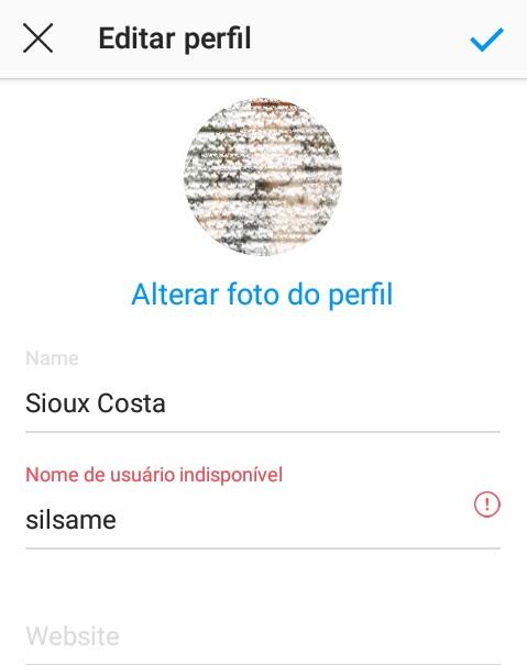 imagem 4 de Dicas para Instagram como mudar o nome de usuário na rede social