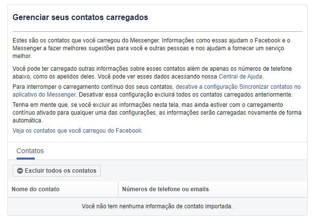 imagem 5 de Como excluir os contatos telefônicos no Facebook