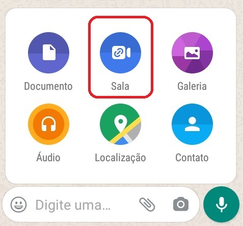 imagem 3 de Como fazer chamadas com até 50 participantes no WhatsApp através do Messenger Rooms