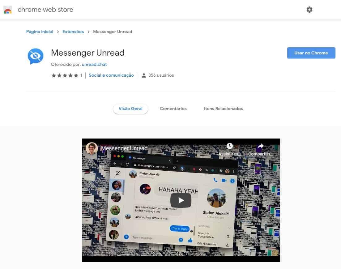 """imagem 3 de Como ocultar o """"Digitando"""" e o """"Visualizado"""" no Facebook Messenger"""
