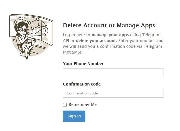 imagem 5 de Como desativar ou excluir a conta no Telegram