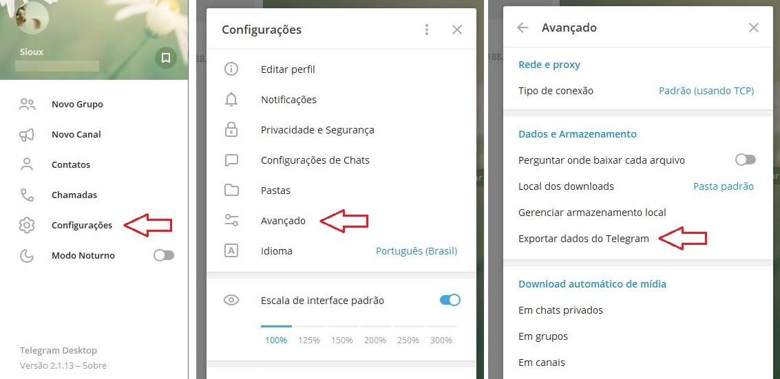 imagem 3 de Como desativar ou excluir a conta no Telegram