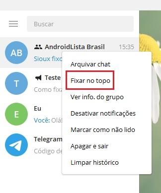 imagem 8 de Como fixar uma mensagem em grupos e canais no Telegram