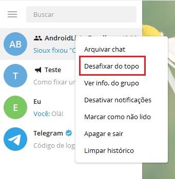 imagem 9 de Como fixar uma mensagem em grupos e canais no Telegram