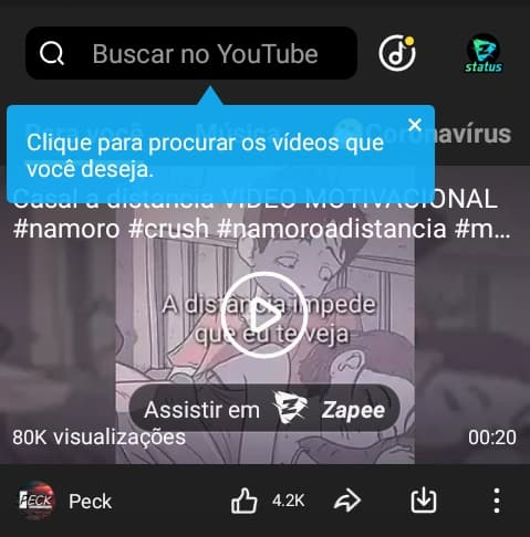 imagem 2 de Como usar o Snaptube para baixar vídeos do YouTube no Android
