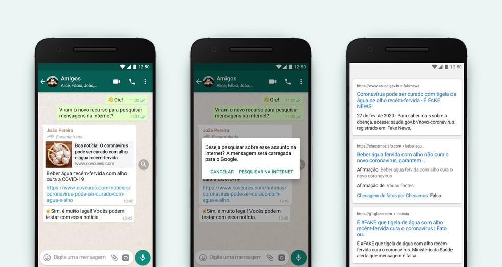 imagem 2 WhatsApp nova funcionalidade permite verificar as mensagens encaminhadas
