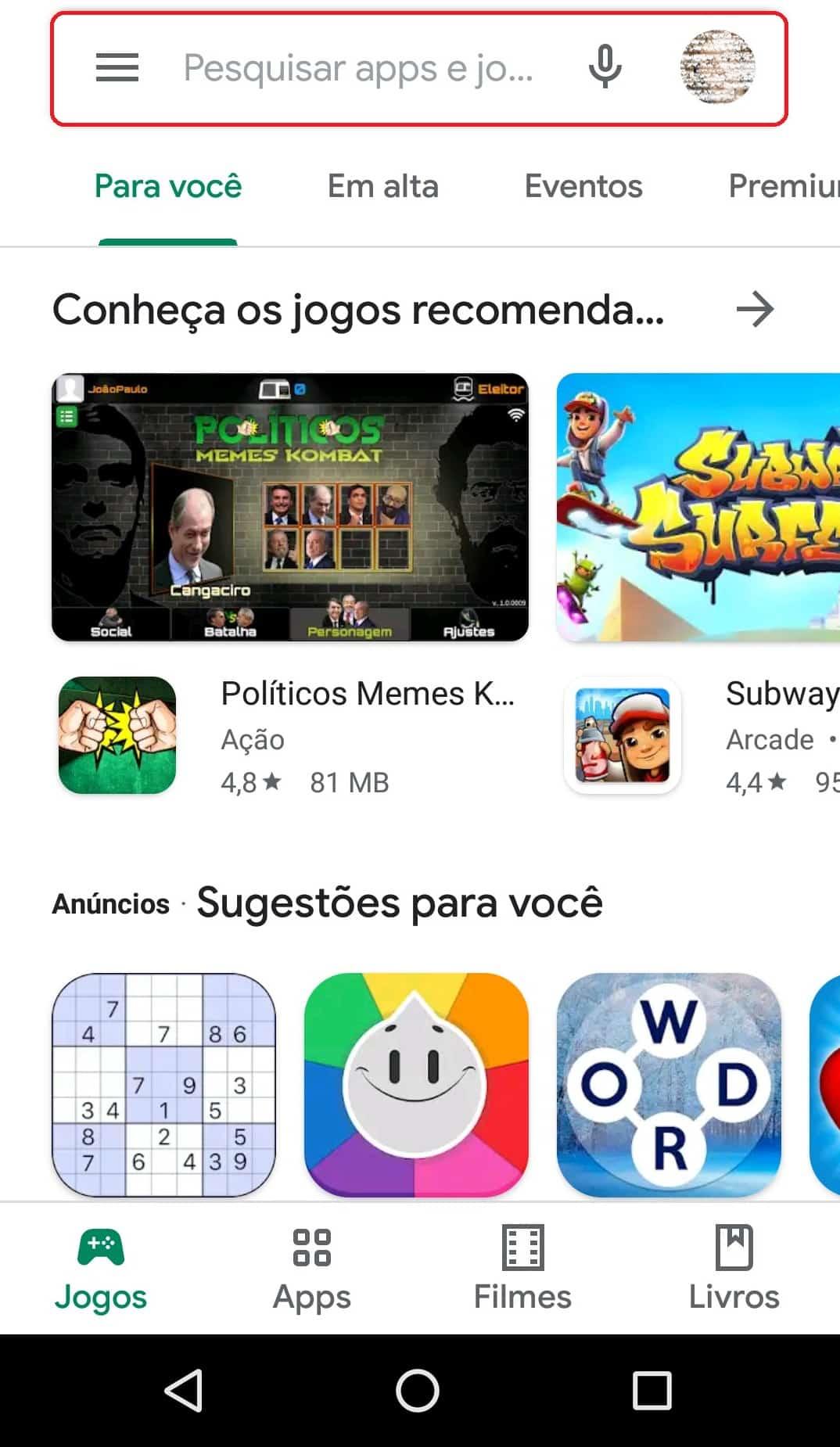 imagem 2 de Como desativar as atualizações automáticas de apps no Android