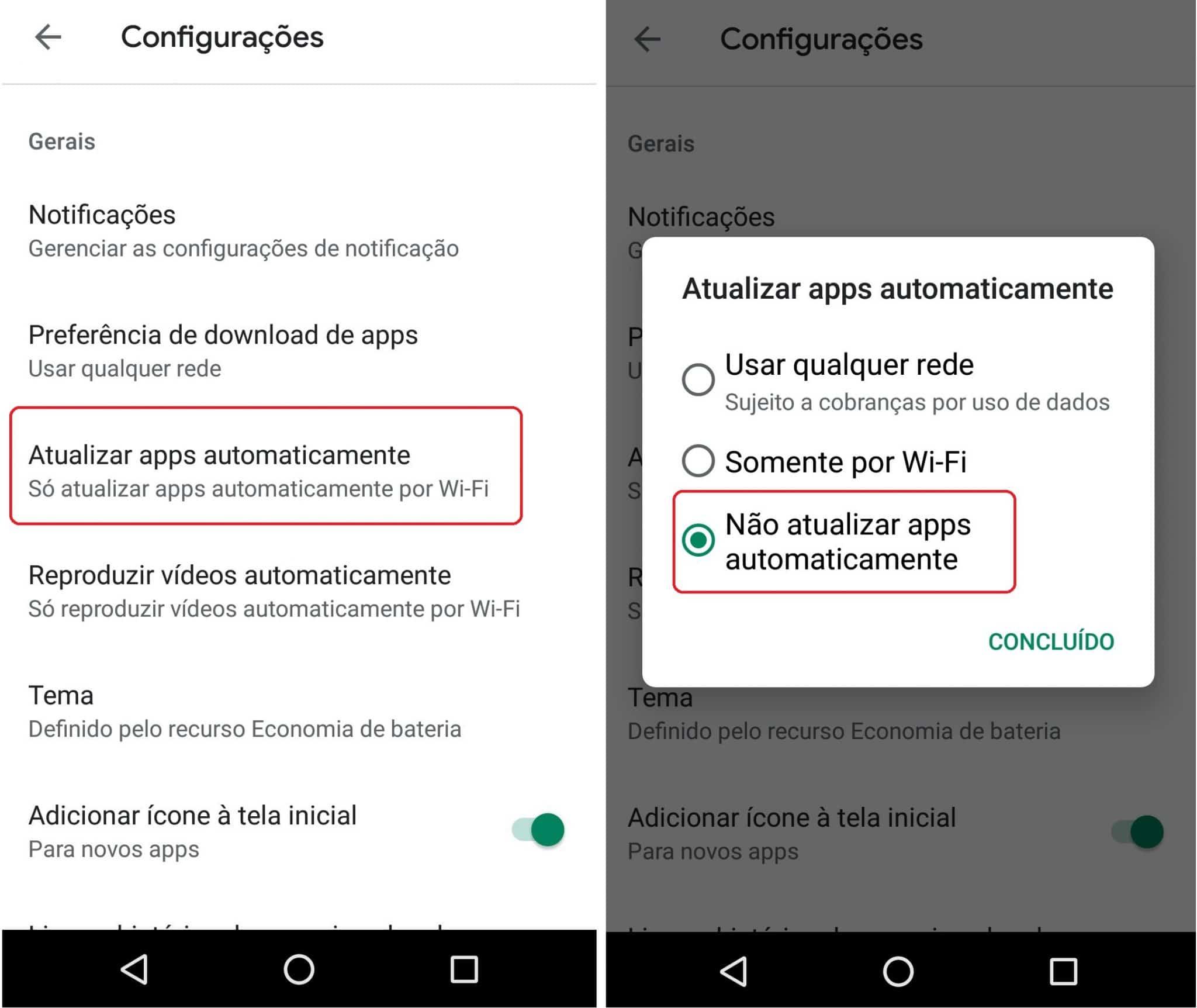 imagem 6 de Como desativar as atualizações automáticas de apps no Android