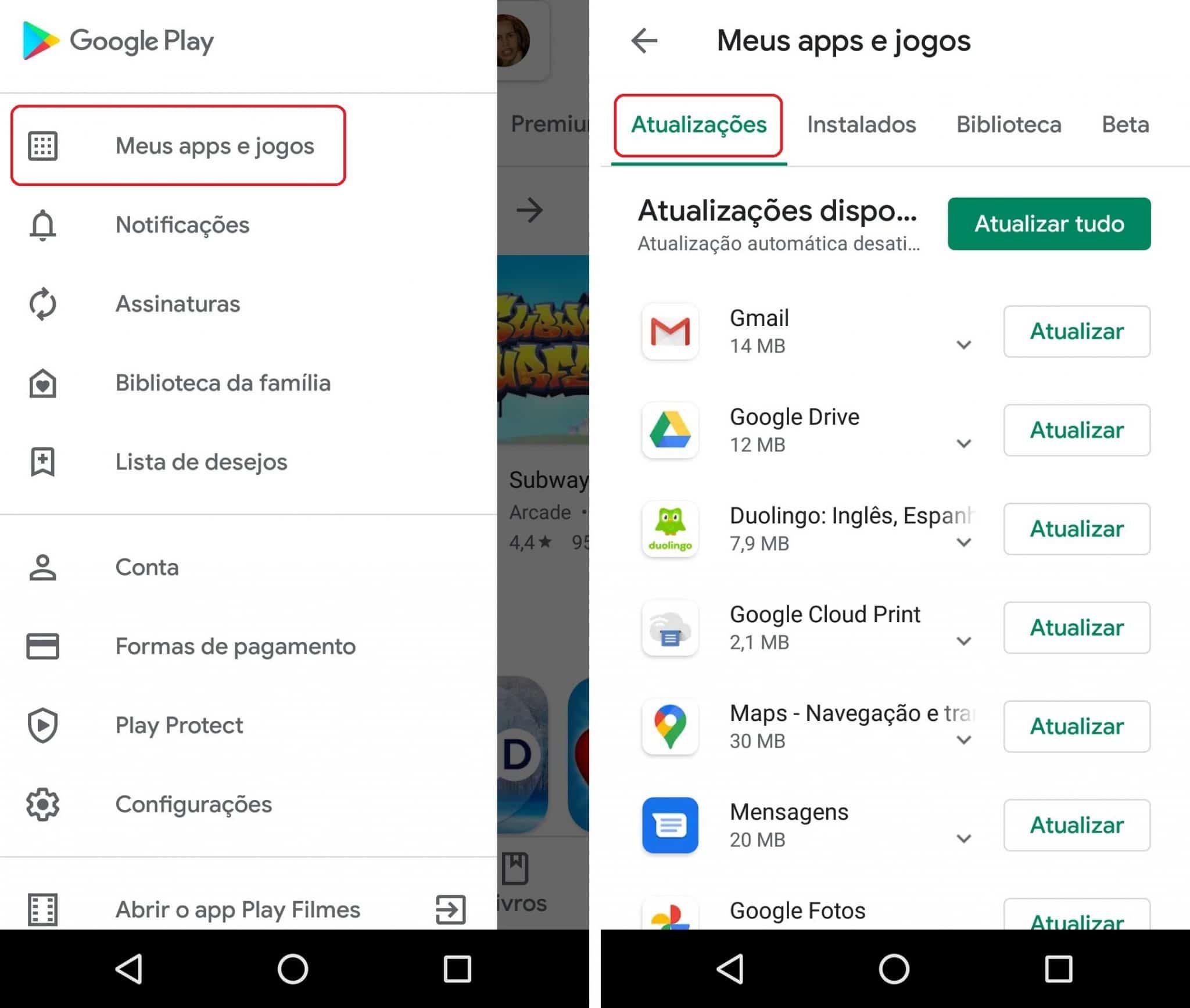 imagem 7 de Como desativar as atualizações automáticas de apps no Android