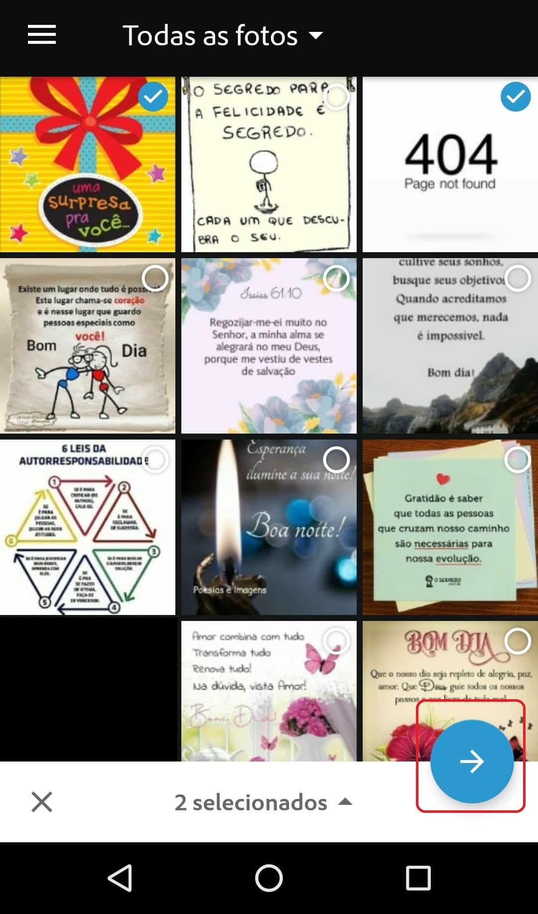imagem 3 de Como enviar no WhatsApp imagens que mudam depois de abertas