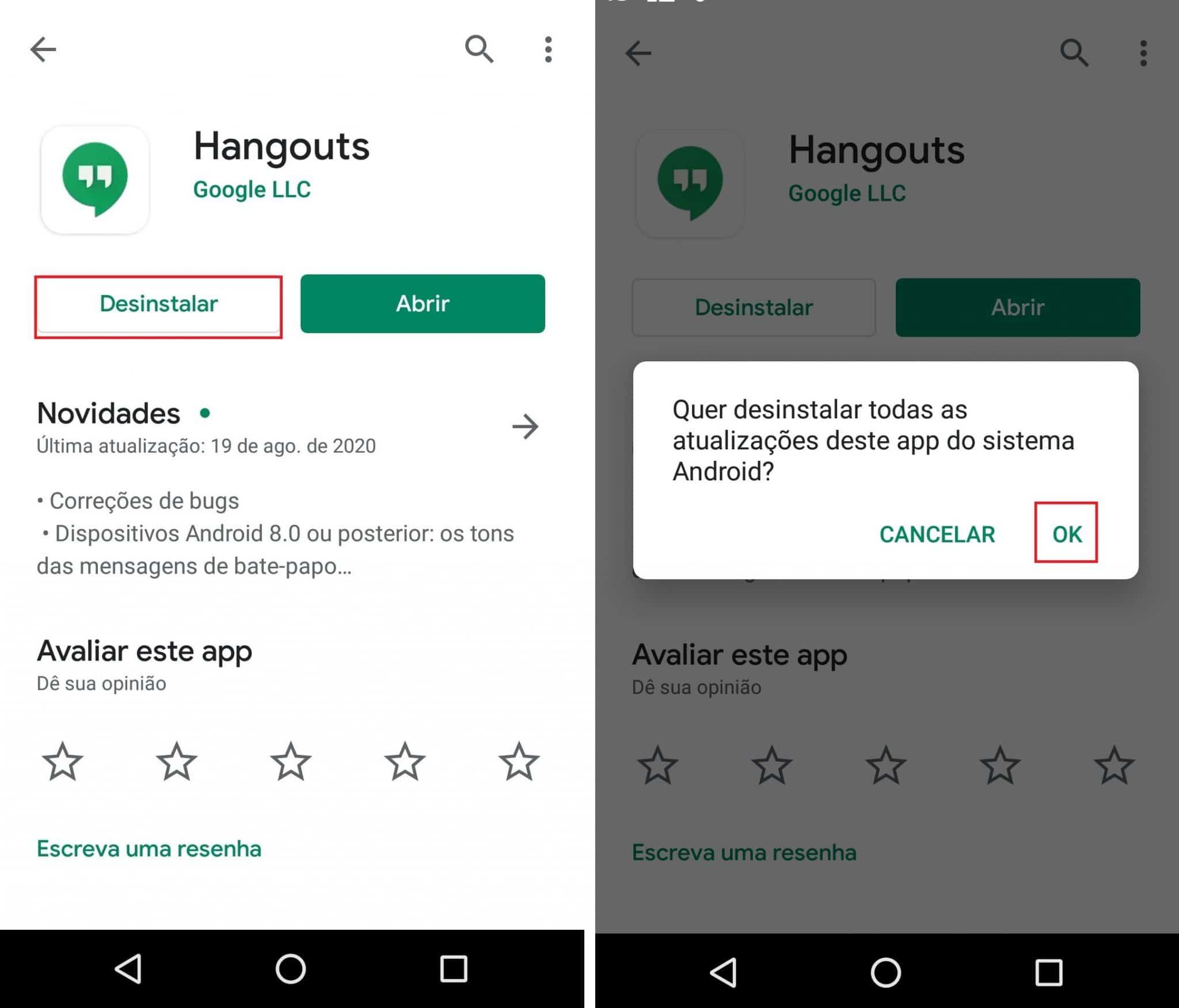 imagem 6 de Como voltar para a versão anterior de um aplicativo no Android