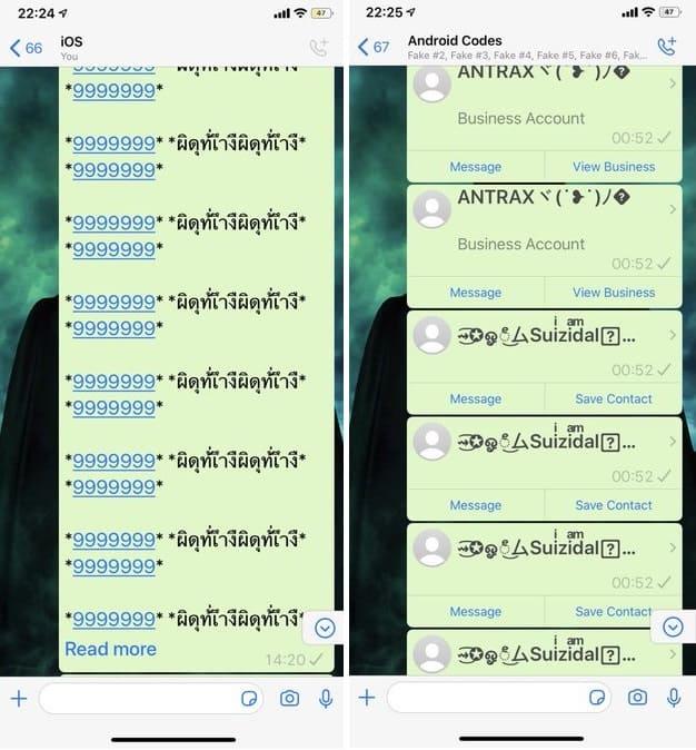 imagem 2 de WhatsApp cuidado com as 'mensagens assustadoras' que circulam no mensageiro
