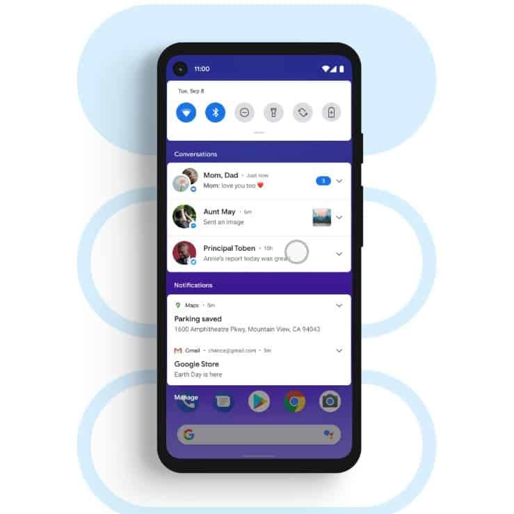 imagem 2 de Android 11 novos recursos dispositivos compatíveis e mais