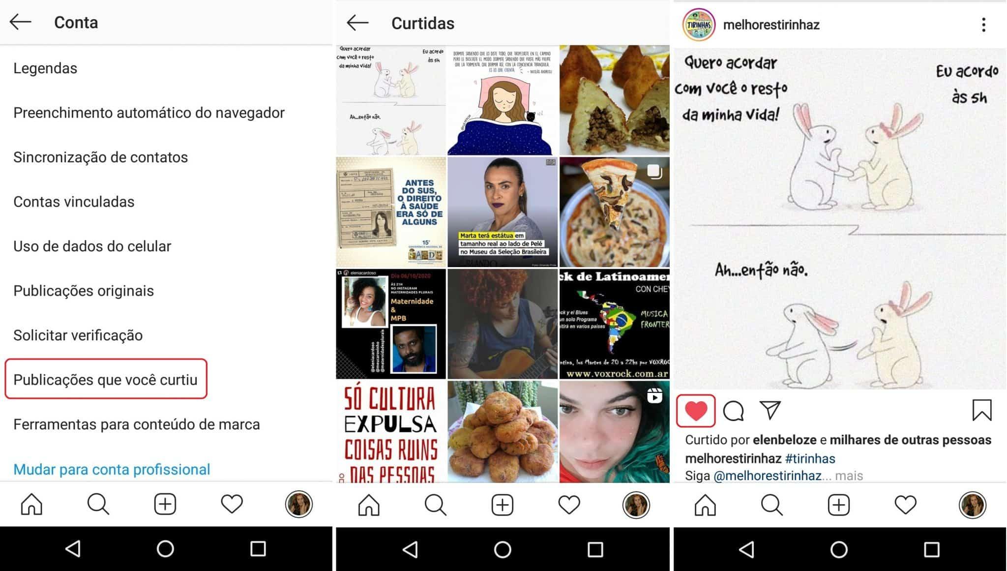 imagem 5 de Como remover curtidas e reações de posts no Instagram e Facebook